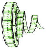 3d film rolled forward