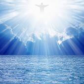 Christ in skies
