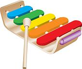 Child's Toy Xylophone