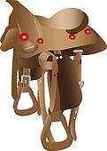 Equestrian saddle
