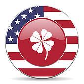 four-leaf clover american icon
