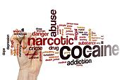 Cocaine word cloud