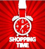 Shopping time poster design