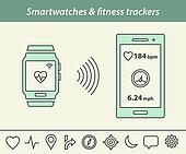 Smartwatch and fitness tracker