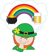 Leprechaun Rainbow Beer