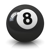 Eight billiard ball