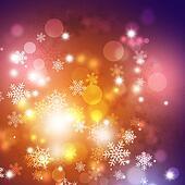 Winter Multicolor Background