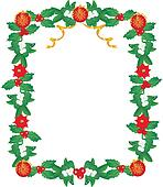 Lavishly garnished Seasonal Frame