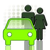 Car and Couple