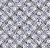 Intricate Bathroom Tiles Background