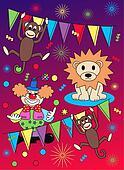 circus pattern