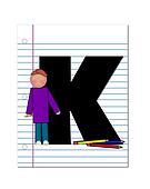 Alphabet Start of School Two K