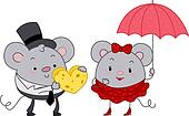 Mice Couple