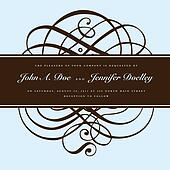 Vector Brown Ornament and Ornate Frame