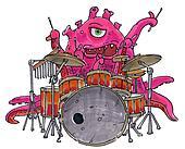 rock monster drums