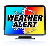 Weather Alert - High Definition Television HDTV