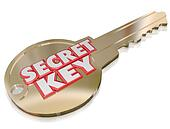 Secret Key Classified Confidential Private Access Password