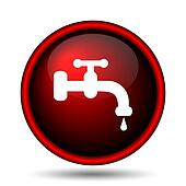 Water tap icon