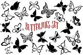 Seamless Backgrounds, Butterflies