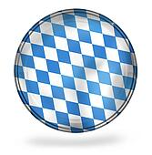bavaria Oktoberfest Icon Button Symbol design