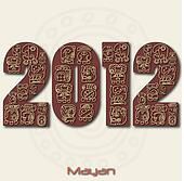 Image of the year 2012 with Mayan r