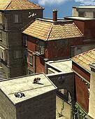 Italian Rooftop Scene