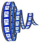 Web film Segment rolled forward