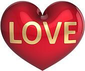 Heart shape in Love (Hi-Res)
