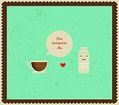 coffee and milk best friends