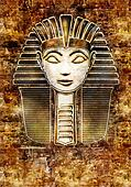 Pharaoh Sphinx Head - Hatshepsut