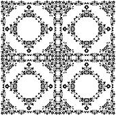oriental style seamless pattern vector twelve