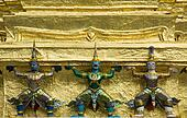 Statues of demons at Wat Phra Kaew, Bangkok