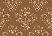 Seamless Damask Design