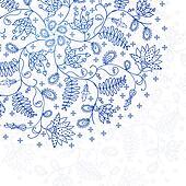 blue lace background