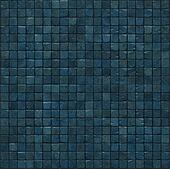 large 3d render of a smooth blue stone mosaic wall floor