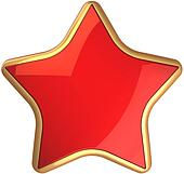 Red star from russia