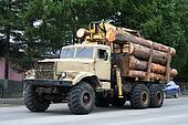Timber lorry