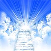 ladder up to skies