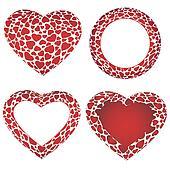 Heart frames set
