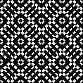 An elegant black and white