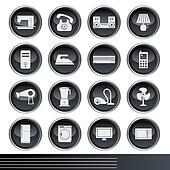 Electrical Appliances Icons Set