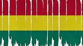 Bolivia Flag tinted vertical texture