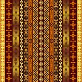 African motifs on ethnic background