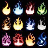 Fire Flame Blaze Burn Icon