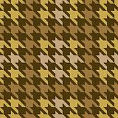 Plaid Houndstooth_Brown