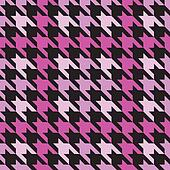 Plaid Houndstooth_Pink
