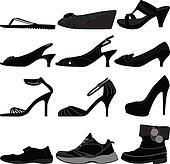 Girl Female Woman Shoes Footwear