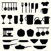 Kitchen utensils and tools