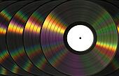 Vinil Records With Dispersion