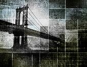 Modern Art Inspired New York City Bridge